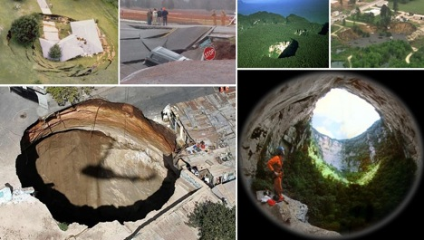 13 of the Biggest, Strangest, and Most Devastating Sinkholes on Earth