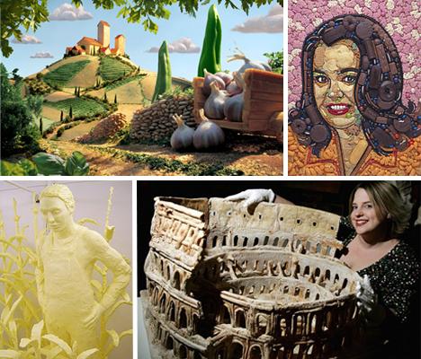 15 Fascinating Food Artists and Sculptors [70 Pics]