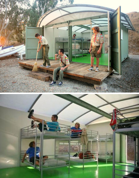 Great Crates 3 Cool Cases Of Shipping Container Reuse