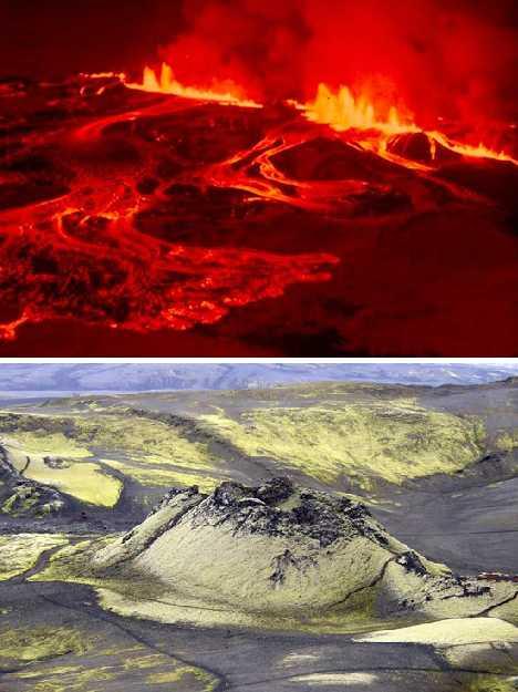 does iceland utilise its volcanic activity