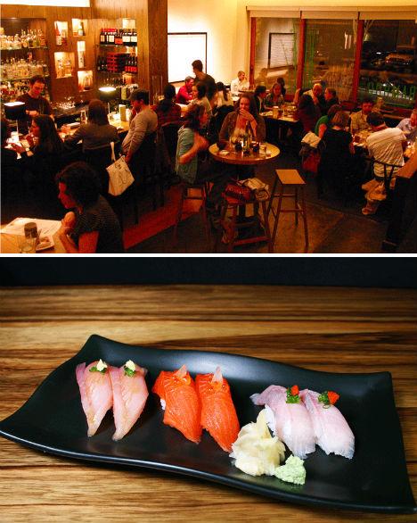 Greenest Restaurants Bamboo Sushi Portland