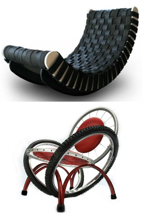 25 Rad Items Made From Reclaimed Amp Recycled Tires Webecoist