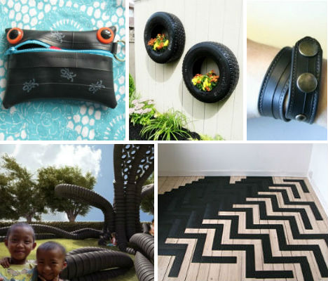 25 Rad Items Made from Reclaimed & Recycled Tires
