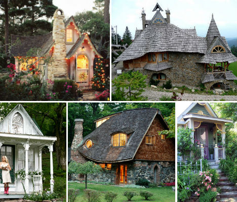 Fairytale abodes 15 tiny storybook cottages webecoist for Whimsical cottage house plans