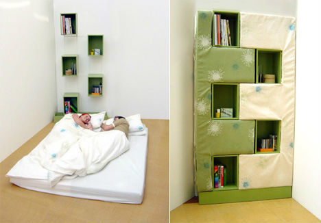 Bookcase Bed