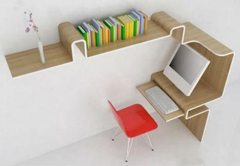 Home Office Desk Storage