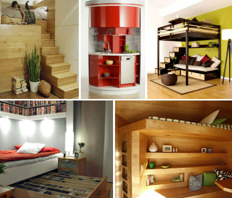 Ultra Compact Interior Designs 14 Small Space Solutions