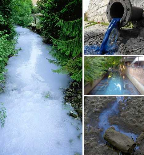 Water Colors: 10 Unnaturally Dyed Polluted Rivers