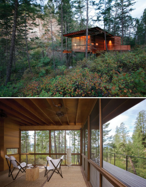 Dream Retreats 15 Rustic Reclaimed And Remote Cabins