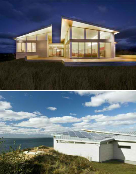 Geothermal architecture getting energy from the earth for Geothermal house plans