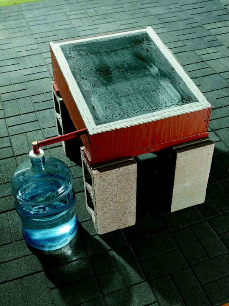Delicieux Off Grid DIY Solar Still Purify Water