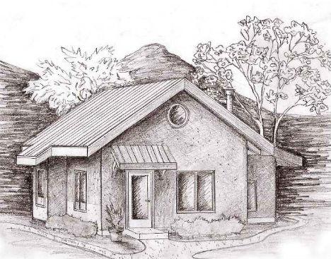 Cheap Eco House Straw Bale