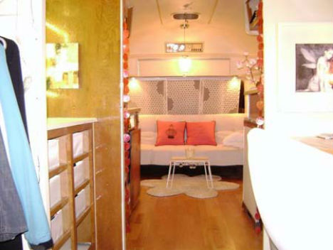 Cheap Eco Houses Renovated Airstream