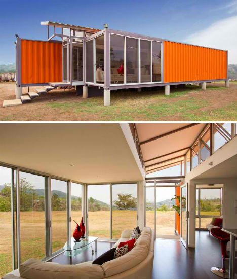 Tiny House Container Amazon: Build Your Own Eco House Cheap: 10 DIY Inspirations