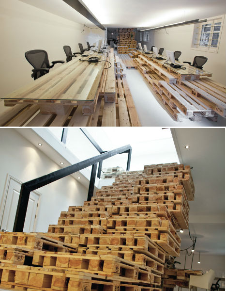 pallet office. Pallet Projects Office Stairs Pallet Office