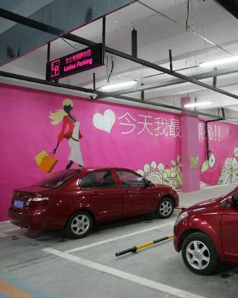10 Small House Designs That Break Preconceptions About Small Size: Think Pink: Women-Only Parking Around The World