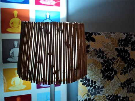 DIY Bamboo Lamp Shade