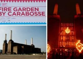 Fire Garden: Carabosse Warms Battersea Power Station