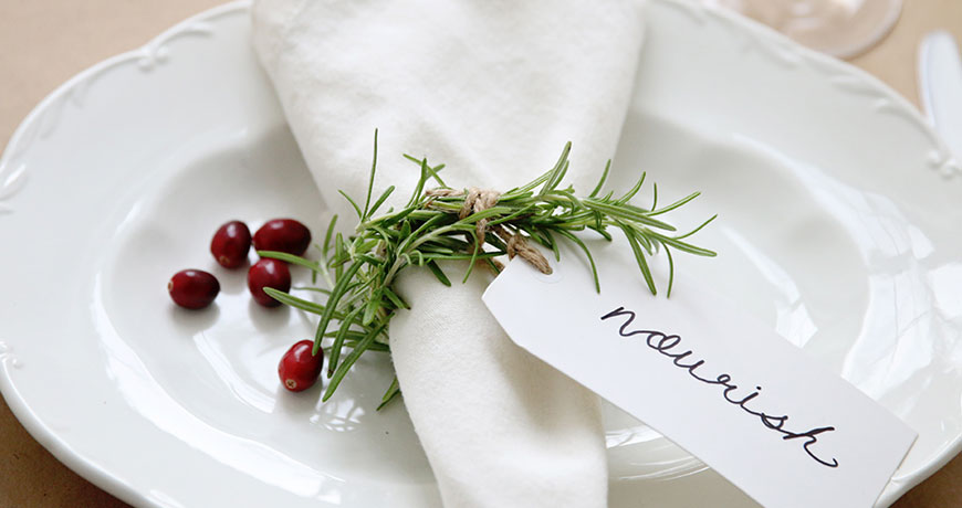 Christmas Crafts Rosemary Napkin Rings Webecoist