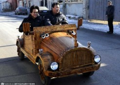 Nailed It! Carpenter Crafts Wooden Electric Cars