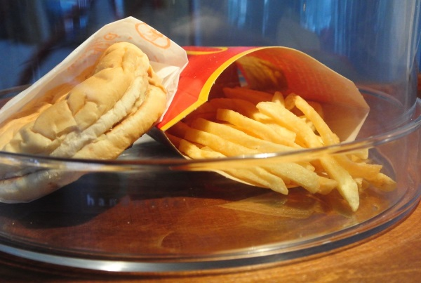 Last McDonalds Burger Fries Iceland 1