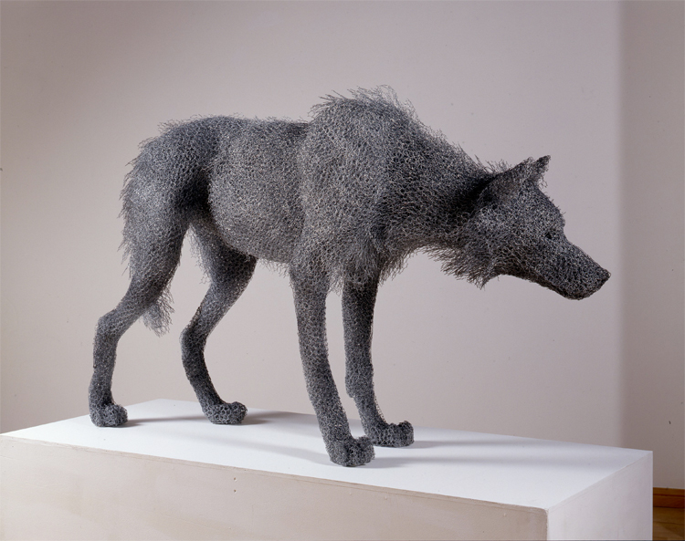 wire animal sculptures 8