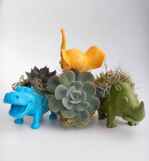 animal planter 2