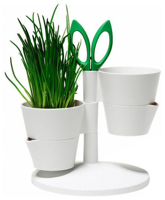 modern planters herb stand