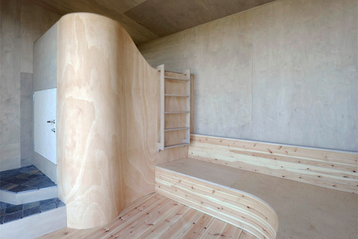 wood tunnel house 4