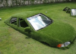 Parked Park: Taiwan's Greenest Parking Lot