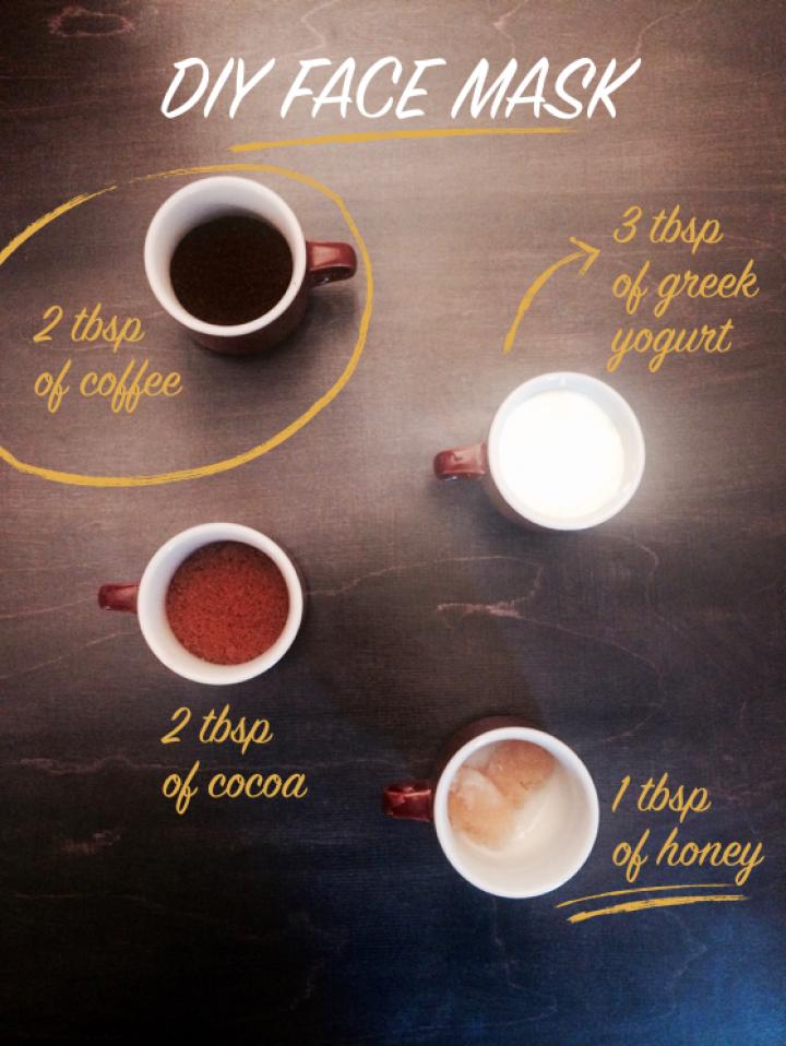 diy beauty recipes coffeee cocoa