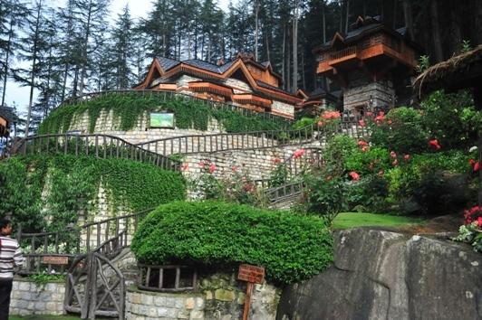 dream destinations himalayan village