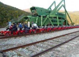 Korean Rail Bike Route Recycles The Railroad