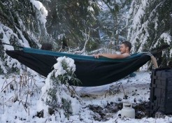 Hot Tub in a Hammock: Hydro-Relaxation Goes Portable