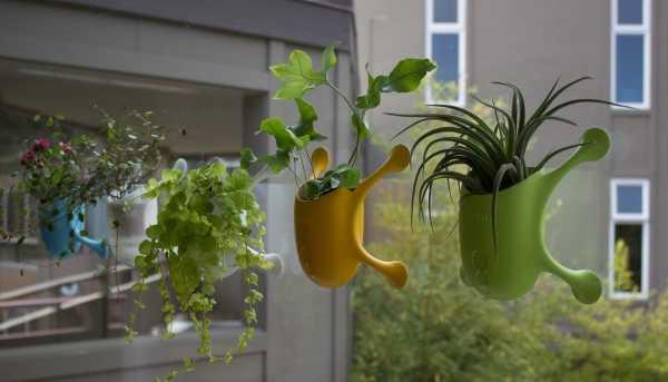 Stick It Innovative Livi Suction Cup Planter Webecoist