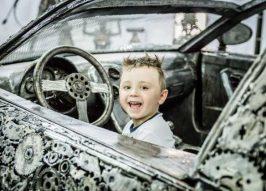 Classic Car Replicas Recycled From Scrap Metal