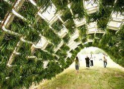 Got Grass? Milk Crates Green Up Living Pavilion
