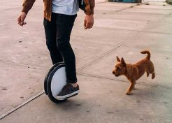 Won Wheel: Segway's One S2 Electric Unicycle