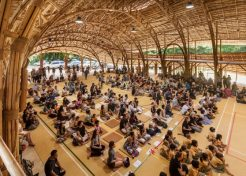 Game Green: School's 100% Bamboo Sports Hall