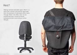 Seat Back Pack: REST Recycles Office Chairs