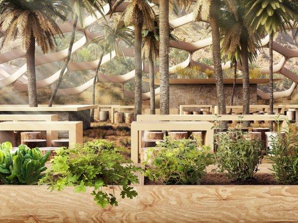 Dome Base: UAE's Biodomes Wildlife Conservation Center