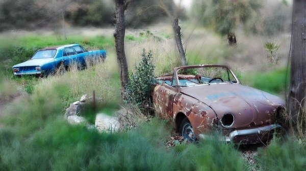 Power Plants: 10 More Overgrown Abandoned Vehicles