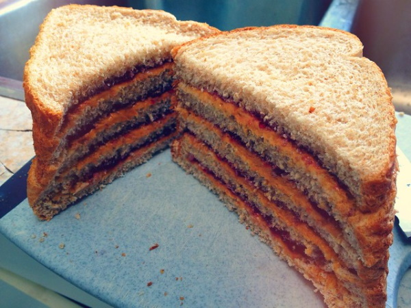 Nutty By Nature: 8 Awesome PB&J Sandwiches People Actually Made