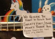 Moist Unwelcome: It's Sweaty Boob & Sock Money Season!